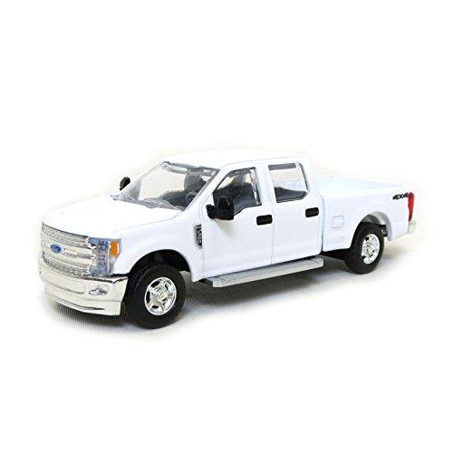 Mud Trucks (1/64 Ford F-350 Crew Cab, Standard Bed, White SpecCast)