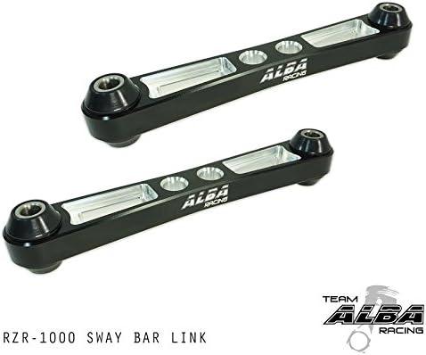 Black Steel Heavy Duty Sway Bar End Link Kit Polaris RZR RZR4 XP1000 Turbo 2017