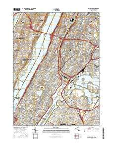 Central Park, New York topo map by East View Geospatial, 1:24:000, 7.5 x 7.5 Minutes, US Topo, 22.8