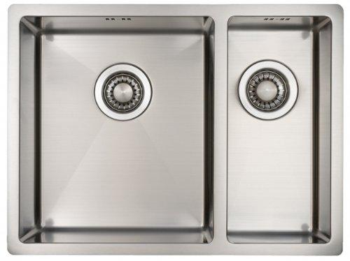 Undermount Kitchen Sink 1.5 Bowl 590*444mm 304 Stainless Steel Satin Finish