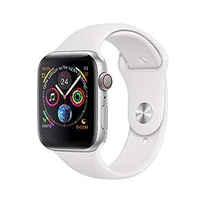 Smartbox Bluetooth Reloj Inteligente W54 con Pantalla táctil batería Grande cámara para iOS iPhone teléfono Android,Plata