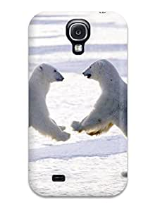 High Quality Shock Absorbing Case For Galaxy S4-polarbears