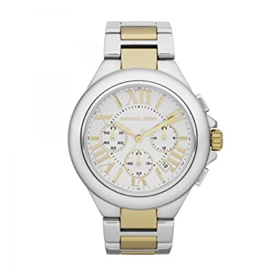Michael Kors Women's MK5653 Camille Silver and Gold Tone Stainless Steel Watch