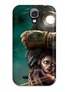 Tpu Case Cover Compatible For Galaxy S4/ Hot Case/ Bioshock by lolosakes