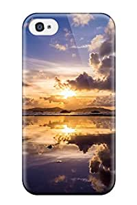 Elliot D. Stewart's Shop Tpu Shockproof Scratcheproof Sunrise Hard Case Cover For Iphone 4/4s