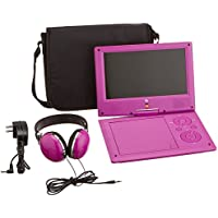 JBL HARMAN JB901PR Personal DVD Player , 9, Purple