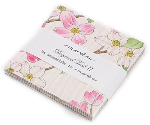 Moda Sentimental Studios (Dogwood Trail II Charm Pack By Sentimental Studios; 42 - 5