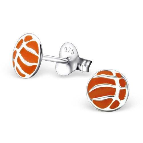 Plata Baloncesto/Fútbol Pendientes en plata de ley: Girl Almighty ...