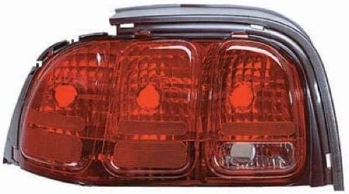 Side F7ZZ 13405 CA FO2800142 Replacement 1997 Left Go-Parts for 1996-1998 Ford Mustang Rear Tail Light Lamp Assembly // Lens // Cover Driver