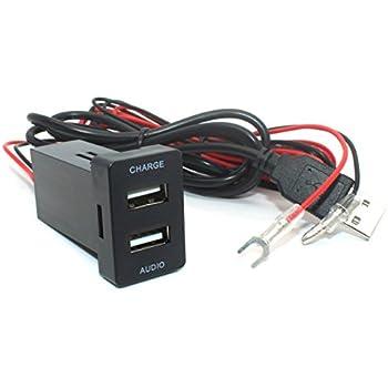 Amazon.com: Cllena - Cargador de coche con puerto USB de ...