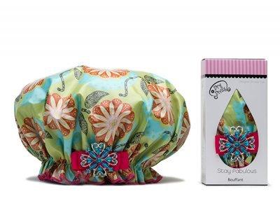 Dry Divas Shower Cap Diva Mandarin Blossom by Dry Divas