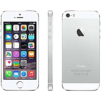 apple iphone 5s. apple iphone 5s 32gb silver gsm unlocked (certified refurbished) iphone 5s a