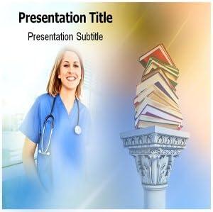 Amazon Com Nursing Education Powerpoint Template Nursing