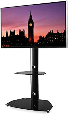Amazoncom Tavr Swivel Universal Floor Tv Stand With Mount Height