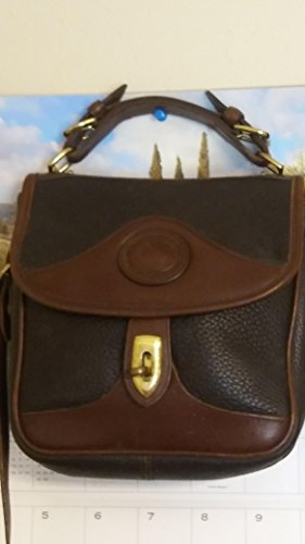 Dooney And Bourke All Leather Weather Vintage Brown (Vintage Dooney Bourke)