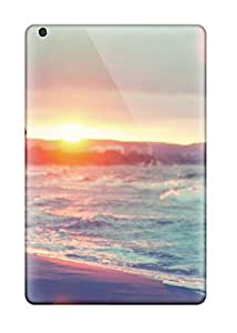 Ultra Slim Fit Hard MikeEvanavas Cases Covers Specially Made For Ipad Mini- Minimin2 Girl Sunset