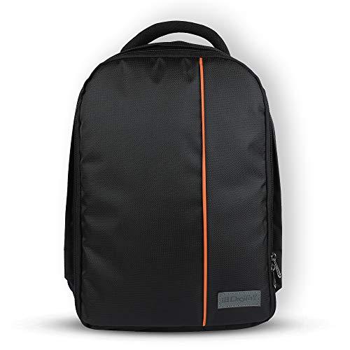 DIGITEK® Waterproof Camera Bag, Lightweight DSLR Backpack, Lens Accessories Carry Case for All DSLR Cameras