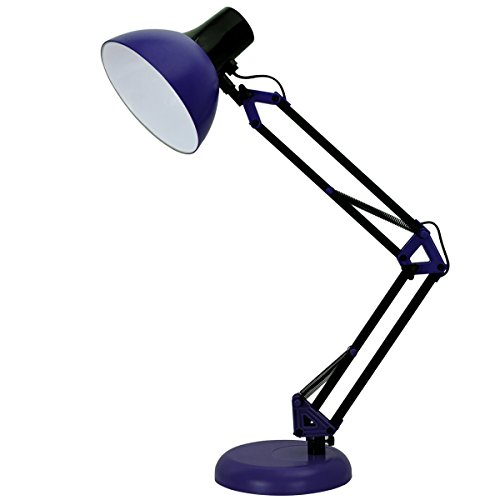 p, Adjustable Swing Arm Small Desk Lamp for Bedrooms,Flexible Clamp Table Lamp ()