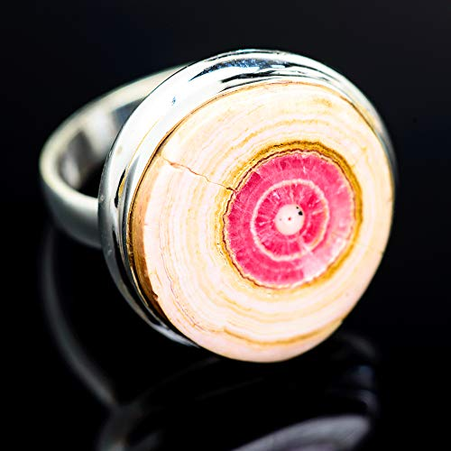 Ana Silver Co Rhodochrosite 925 Sterling Silver Ring Size 9.25 - Handmade Jewelry, Bohemian, Vintage RING967384 from Ana Silver