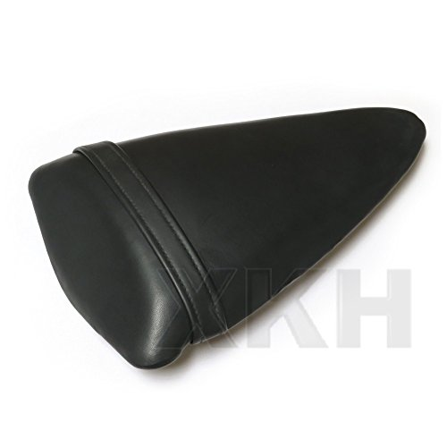 XKH Group BLACK PASSENGER BACK REAR SEAT PILLION FOR 2007-2008 KAWASAKI NINJA ZX6R ()