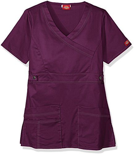 Dickies Women's Genflex (Contrast) Youtility Mock Wrap To...