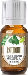 Patchouli (Premium) 100% Pure, Best Therapeutic Grade Essential Oil - 10ml