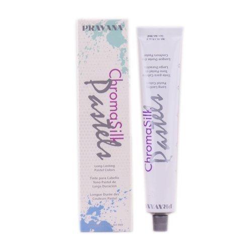 Pravana Chromasilk Pastels Blissful Blue 3 fl. oz. Net 90mL (Hair Dye That Doesn T Require Bleach)