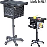 2400 Salon Utility Coloring Chemical Cart, Trolley Lockable Made in USA by Dina Meri