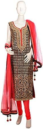 Sanskriti Multi Color Casual Kurta & Churidar Set For Women