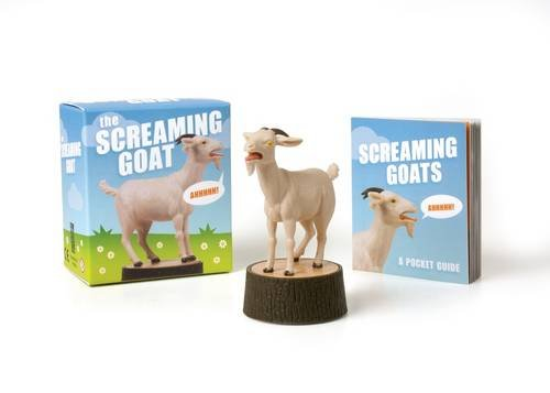 The Screaming Goat Book Figure product image