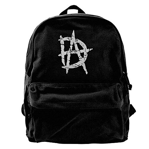 WWE Authentic Dean Ambrose DA Canvas Backpack B2 by FAMCOM