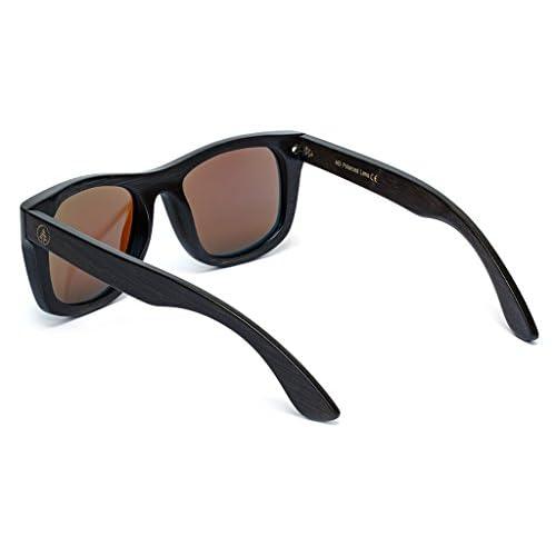 3f50ceef7a4 delicate Tree Tribe Bamboo Polarized Sunglasses - Men s Lakos Hybrid Wayf  Style + Case