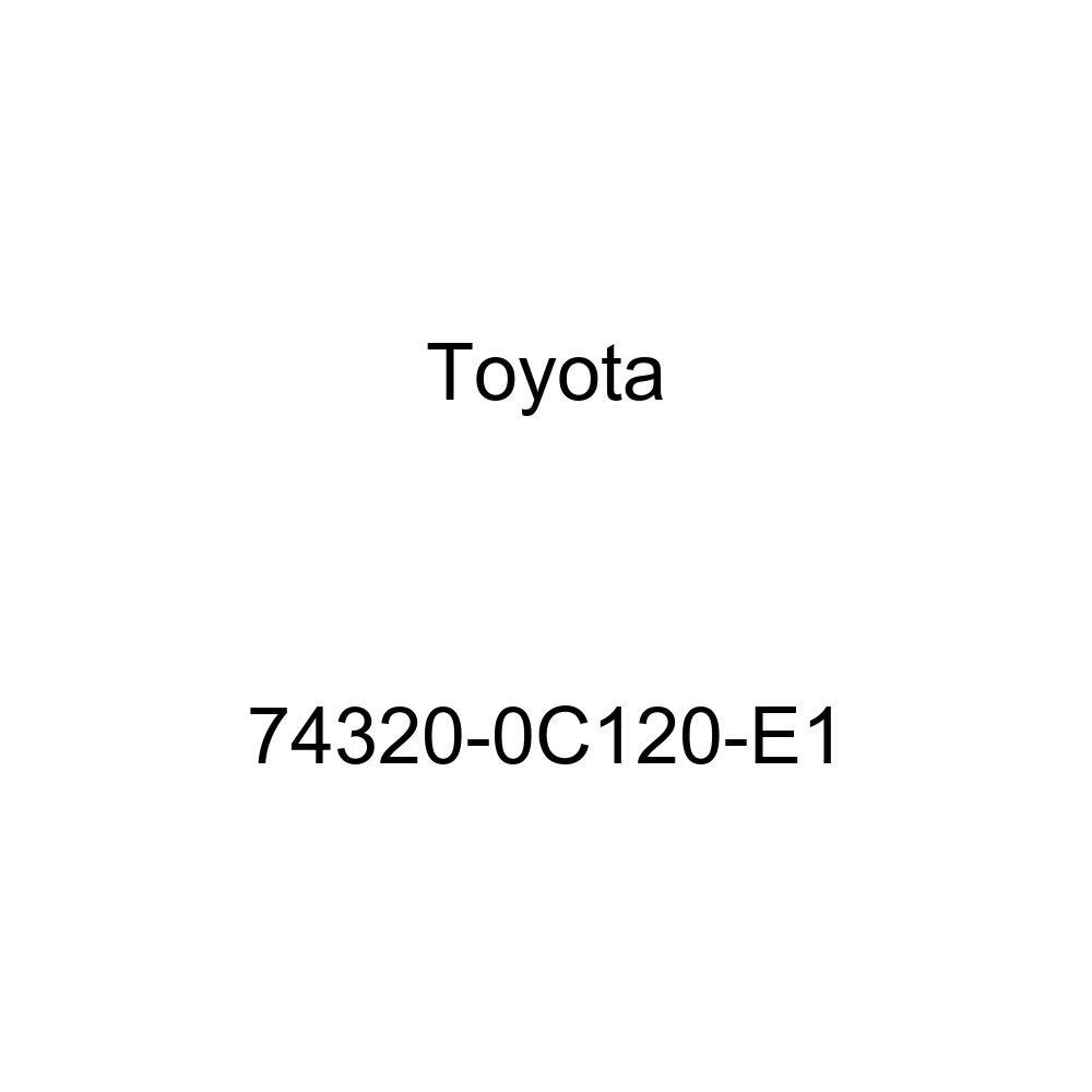 TOYOTA Genuine 74320-0C120-E1 Visor Assembly