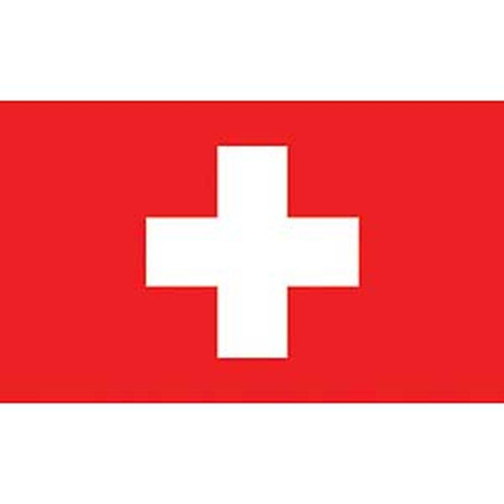 EagleEmblems F8108 Flag-Switzerland 12in x 18in