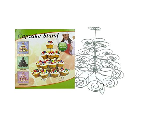 Metal Cupcake Stand, Case of 10