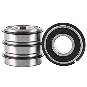 """5//8/"""" ID x 1 3//8/"""" OD Pack of 10 Ultra Smooth Go Kart Snap Ring Wheel Bearings"""