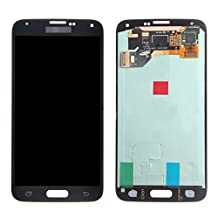 LCD display Digitizer touch screen Assembly Replacement set For Samsung Galaxy S5 i9600 G900A G900T G900V G900P(black)with free repairing tools