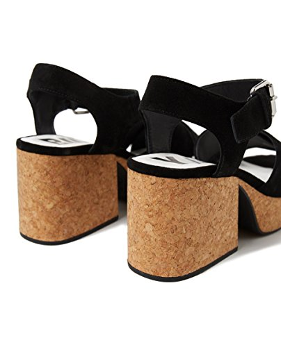 Bimba y Lola Women's Cork Platform Sandal 181BZ1208 YUDIJW
