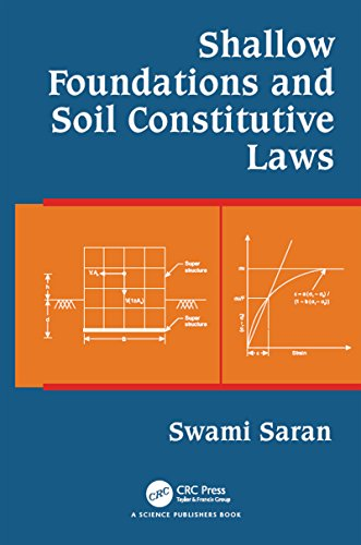 (Shallow Foundations and Soil Constitutive Laws)
