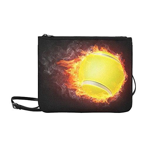 Flaming Tennis Ball - 7