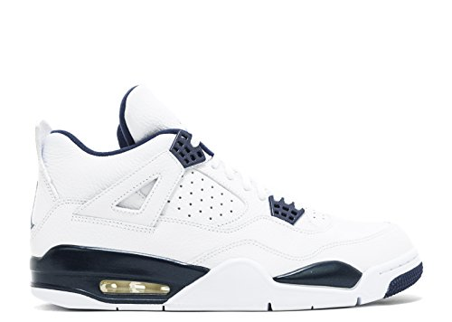 Nike Air Jordan 4 Retro Ls - Legenda Blu -314254-107 - Taglia 13