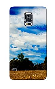 For Galaxy S5 Fashion Design Cow Grazing Case-NPDfPOi4146XIlYD / Cover Specially Made For Thanksgiving Day's Gift