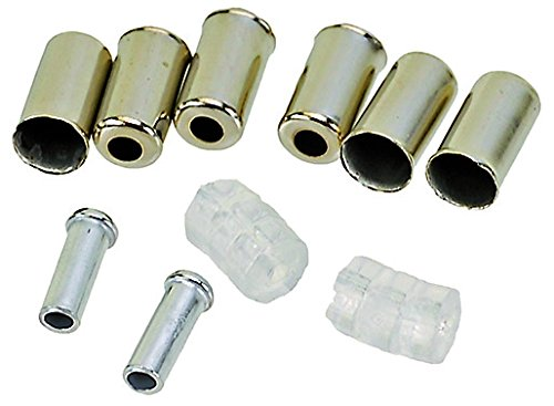Promax Bowdenzüge für Bremsen, silber