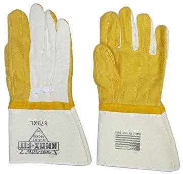 Knoxville Ironworkers Gloves Double Gauntlet product image