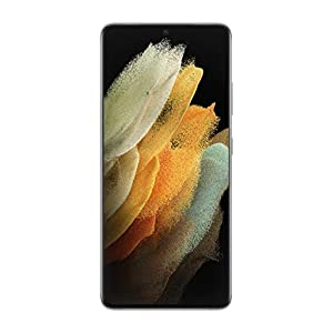 Samsung Galaxy S21 Ultra 5G | Factory Unlocked Android Cell Phone | US Version 5G Smartphone | Pro-Grade Camera, 8K…
