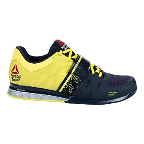 0 2 Training Shoe silver Lifter yellow Navy Reebok Crossfit Men's FAqnIvnwa