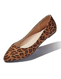 DailyShoes - Zapatos Planos de Ballet para Mujer clásicos de Bailarina con Tiras elásticas Cruzadas