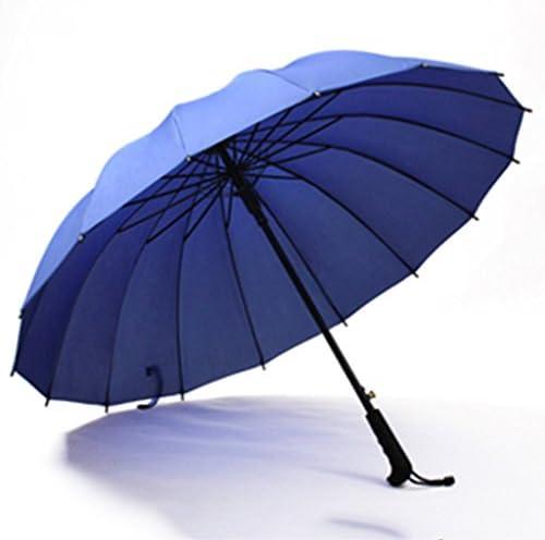 GR5AS サニー傘デュアルユース長い柄の傘自動特大の男性と女性のダブル傘屋外傘 (Color : B)