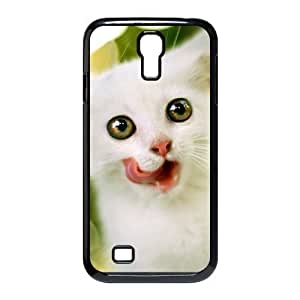 Cell phone case Of Lovely Cat Bumper Plastic Hard Case For Samsung Galaxy S4 i9500