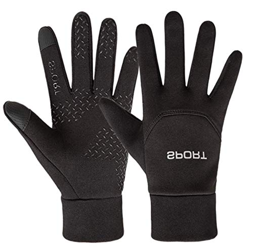 - Cold Weather Warm Winter Running Gloves for Men Waterproof Windproof Thermal Touch screen Insulated